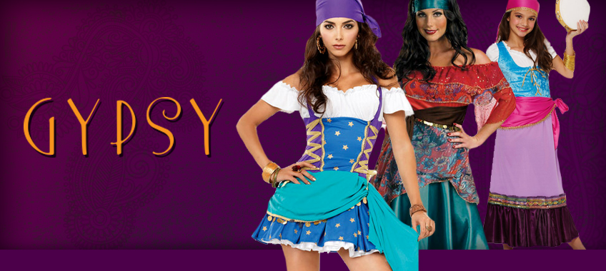 1d108af80b Gypsy Costumes - Mr. Costumes
