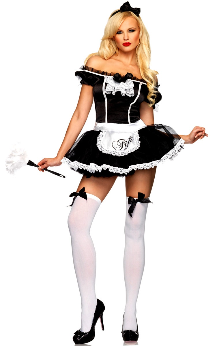 French Maid Fifi Costume Costumes