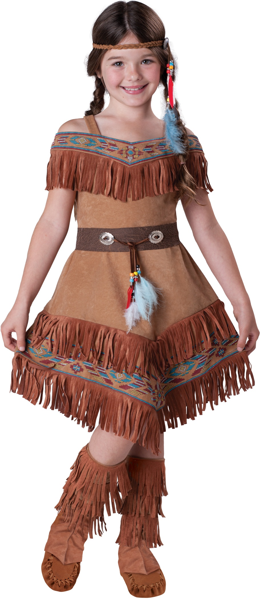 Indian Maiden Girls Costume