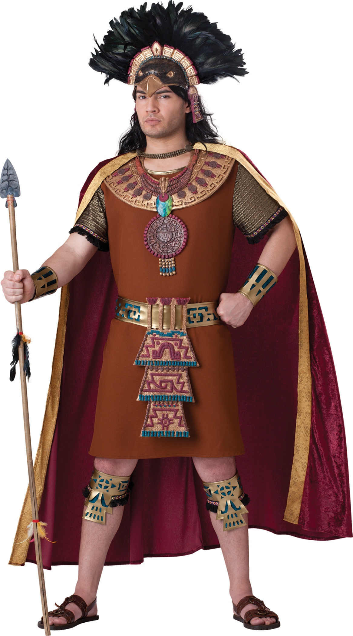 Mens Mayan King Costume