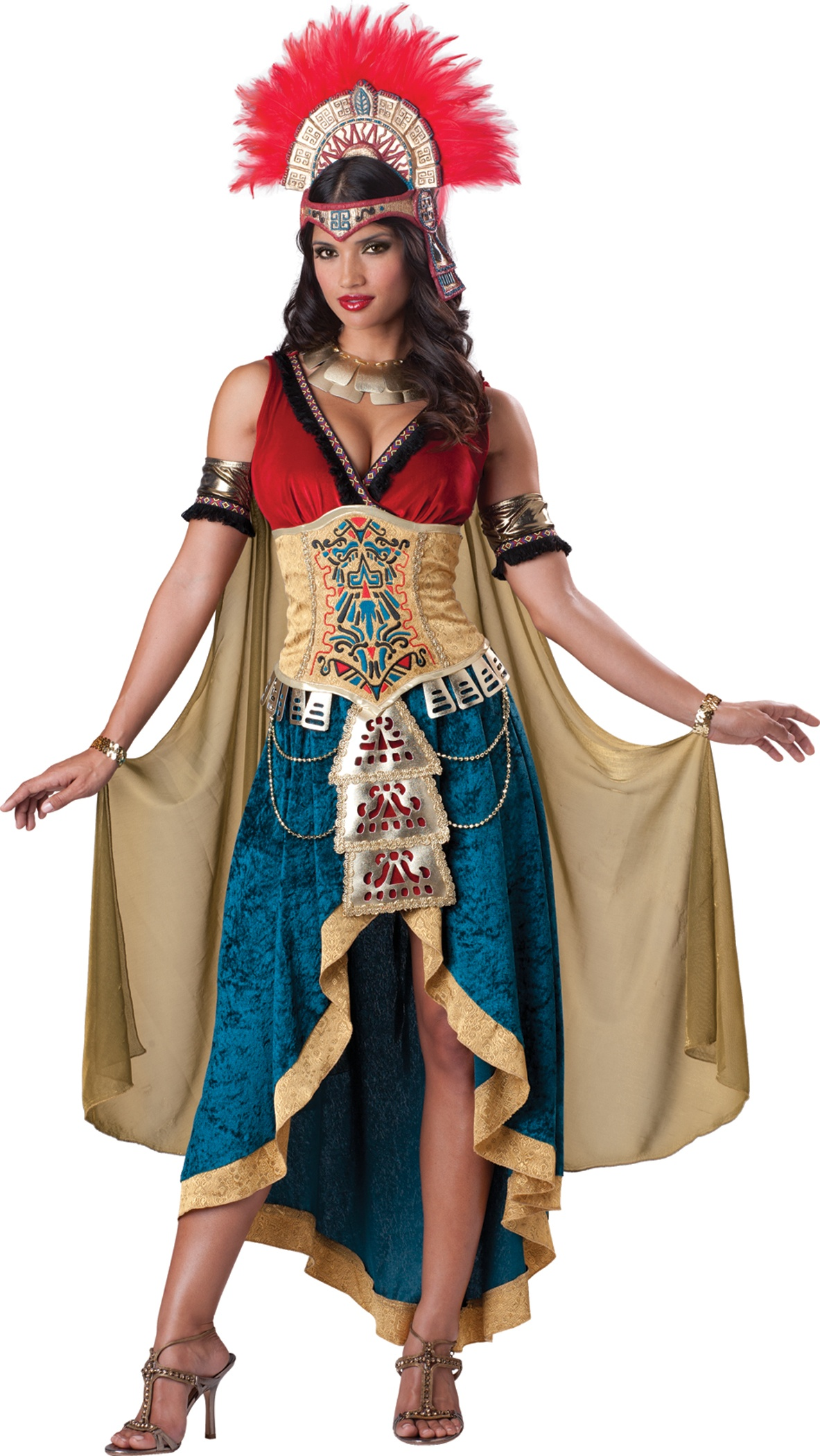 Aztec Mayan Queen Costume