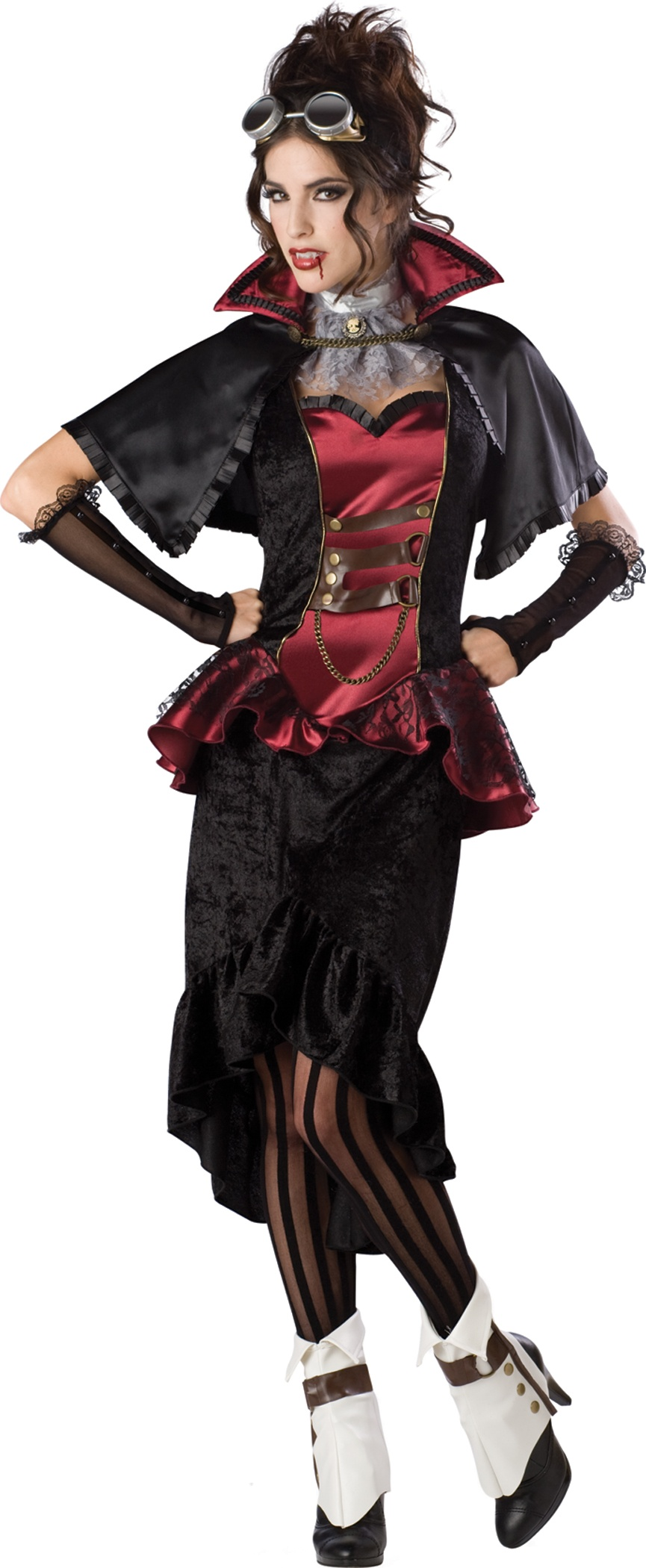 Steampunk Vampiress Womens Costume
