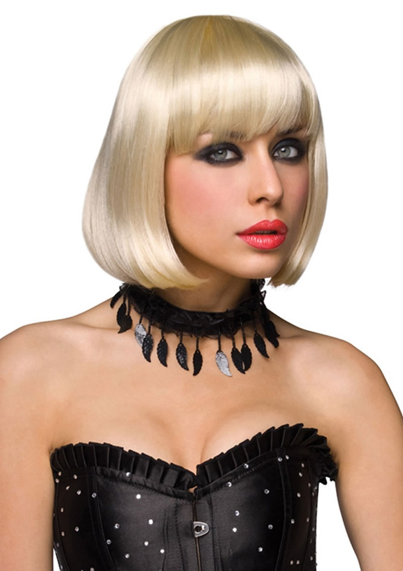 Wigs Layered Blonde 83