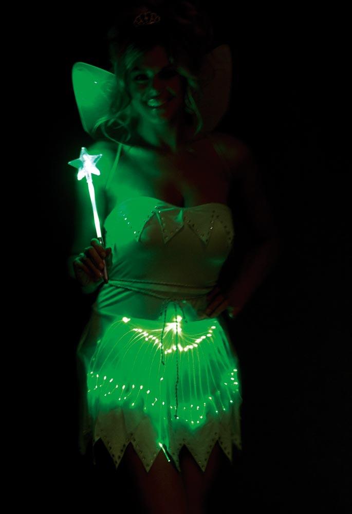 Bright Sprite Sexy Green Fairy Costume Mr Costumes