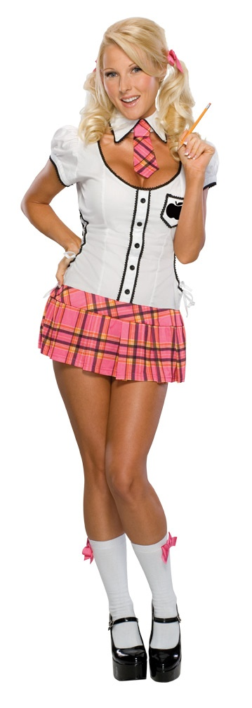 Secret Wishes Naughty Schoolgirl Sexy Costume