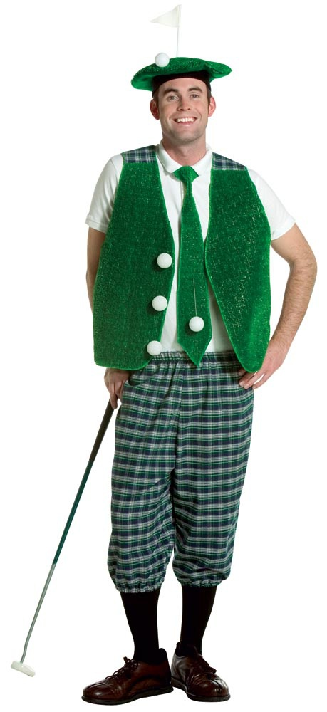 Mens Funny Adult Golf Costume - Mr. Costumes