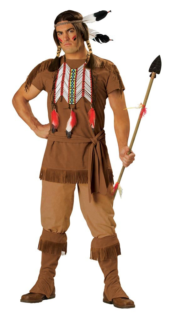 Elite Adult Indian Brave Costume