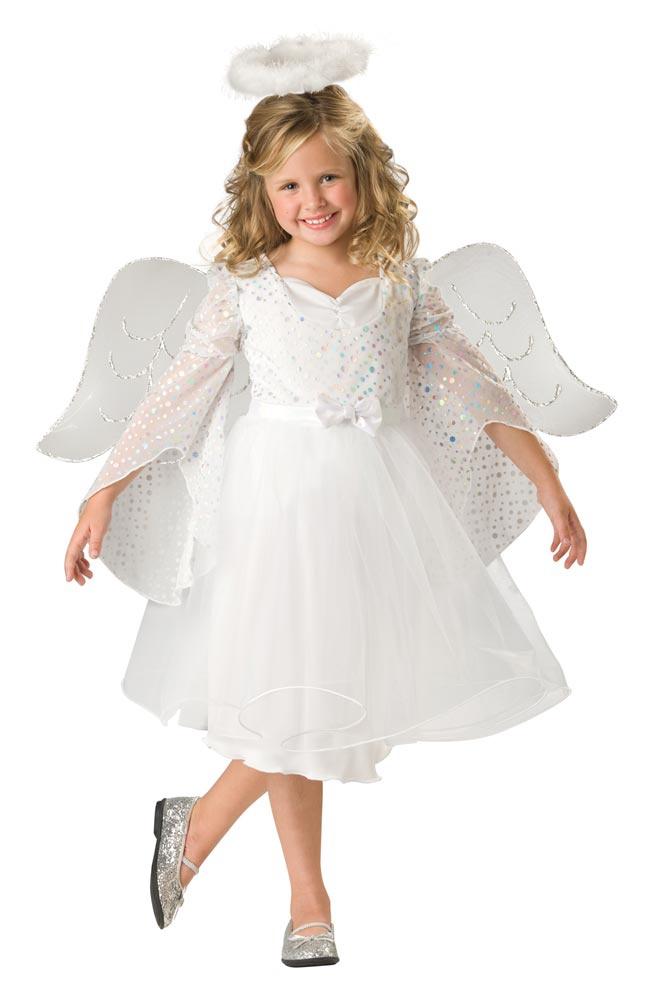Girls Angel Baby Kids Costume - Mr. Costumes