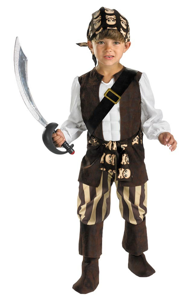 Toddler Rogue Pirate Kids Costume - Mr. Costumes