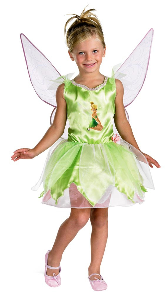 disney kids classic tinkerbell toddler costume mr costumes. Black Bedroom Furniture Sets. Home Design Ideas