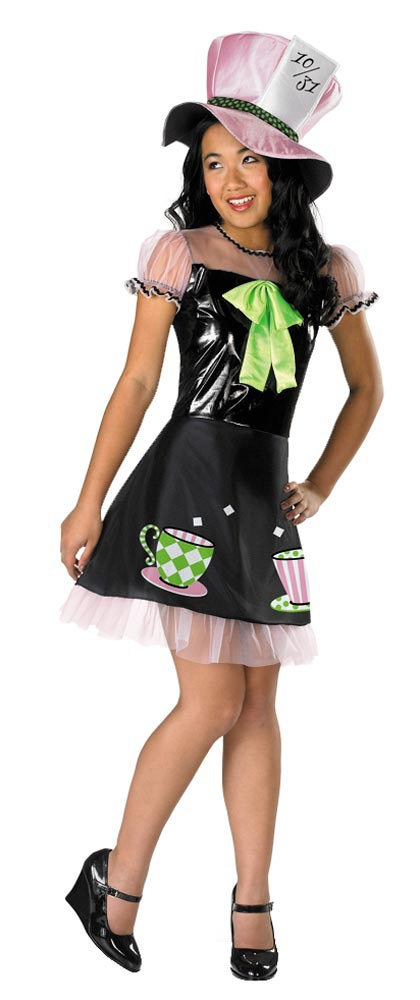 >> Alice in Wonderland Costume >> Mad Hatter Costumes >> Tween Girls ...