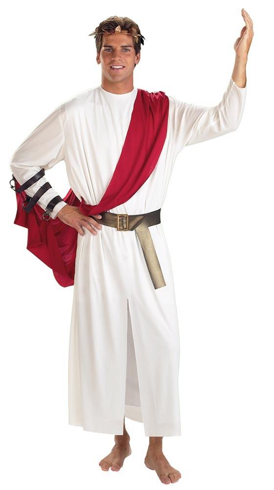 how to wear a greek toga