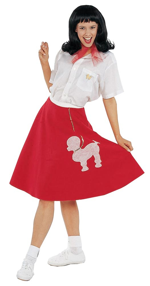womens poodle skirt 50s costume mr costumes