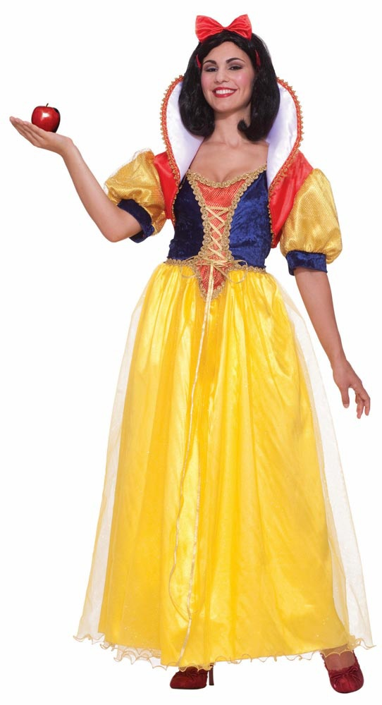 Adult Fairy Tale Snow White Costume. Adult Snow White Costumes