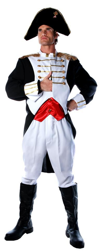 Mens Napoleon French Military Costume - Mr. Costumes