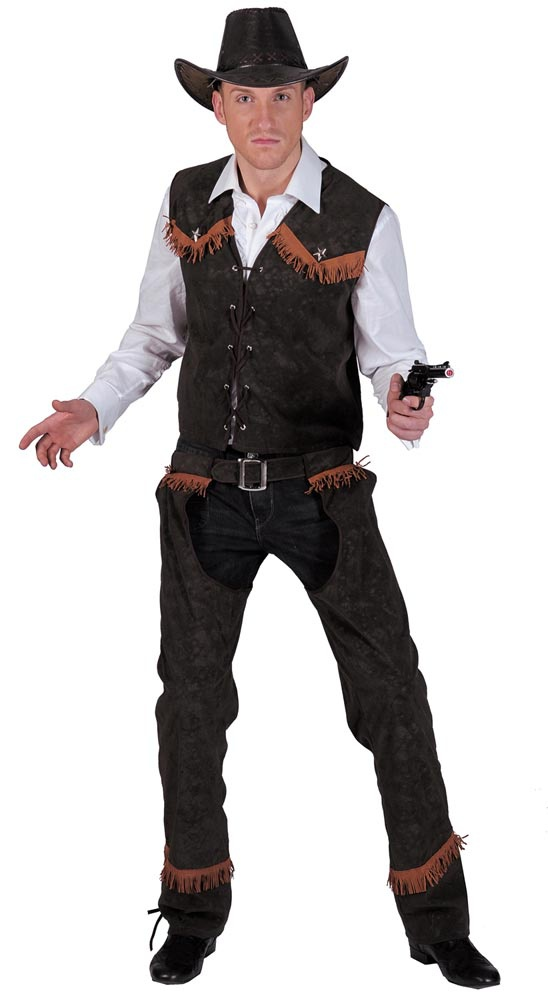 Adult Western Cowhand Cowboy Costume. Cowboy Costumes