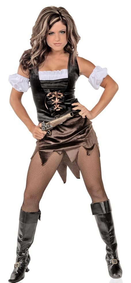 Adult pirate wench costumes