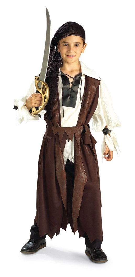 kids caribbean pirate costume mr costumes. Black Bedroom Furniture Sets. Home Design Ideas