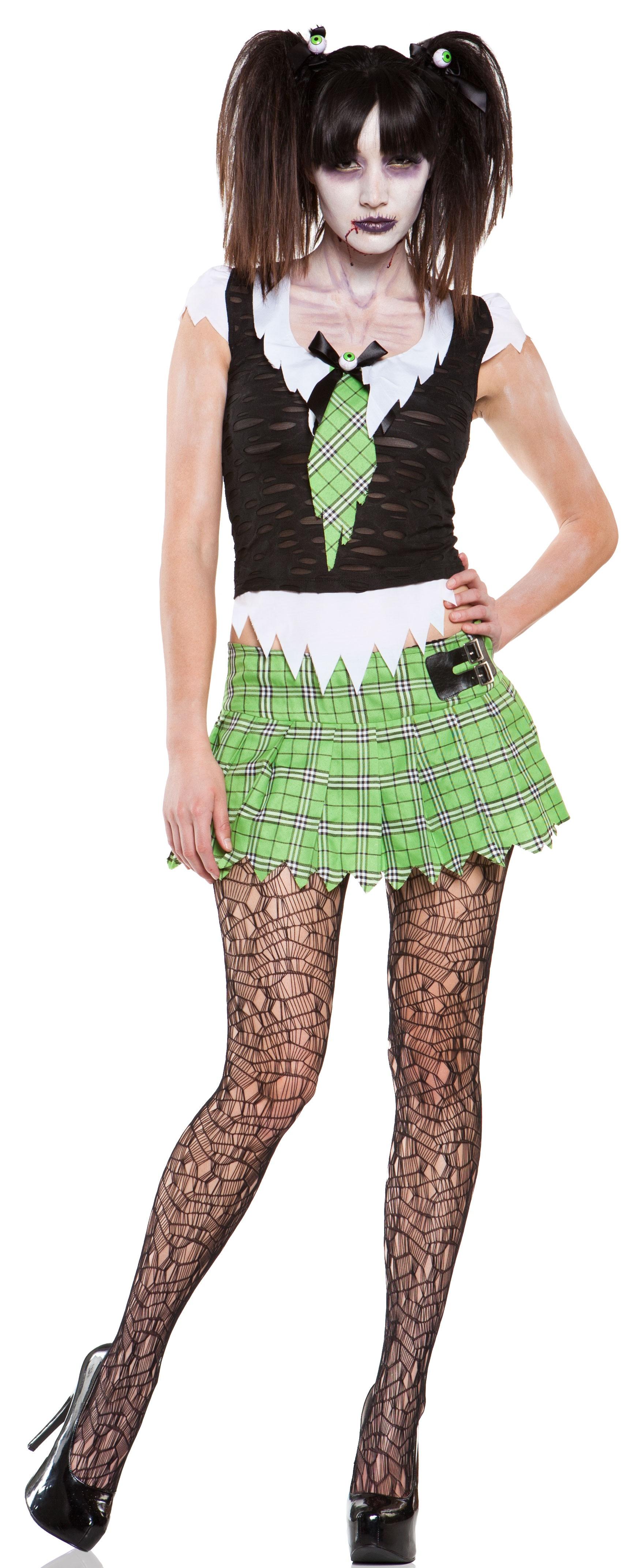 Brain Dead Zombie Schoolgirl Costume
