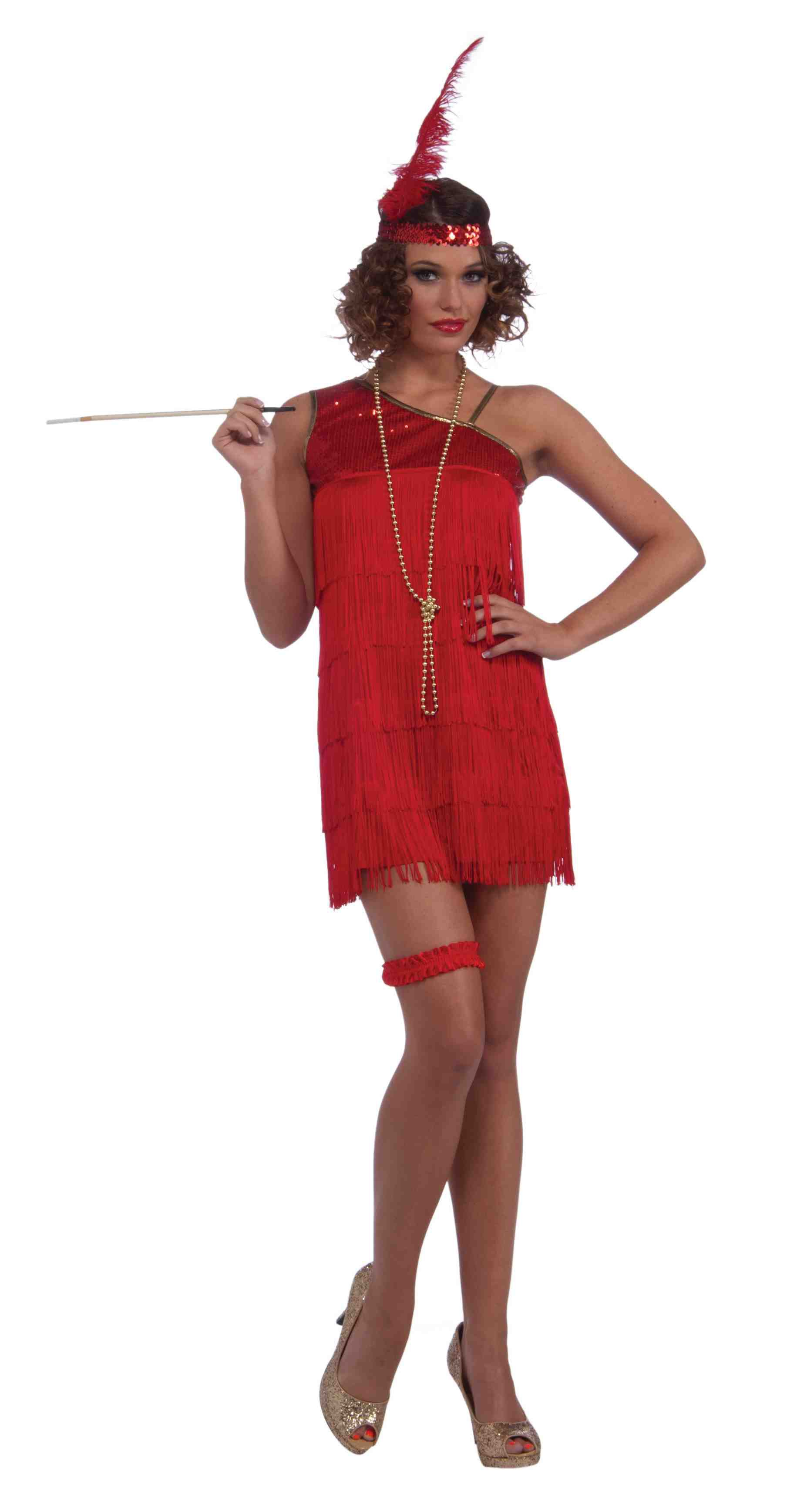 Ruby Dazzle Flapper Dress Costume Costumes