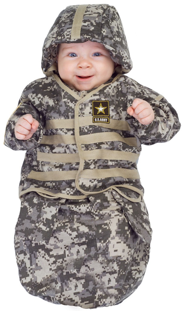 Baby / toddler boys outfit. Short sleeve tee shirt is army green, says