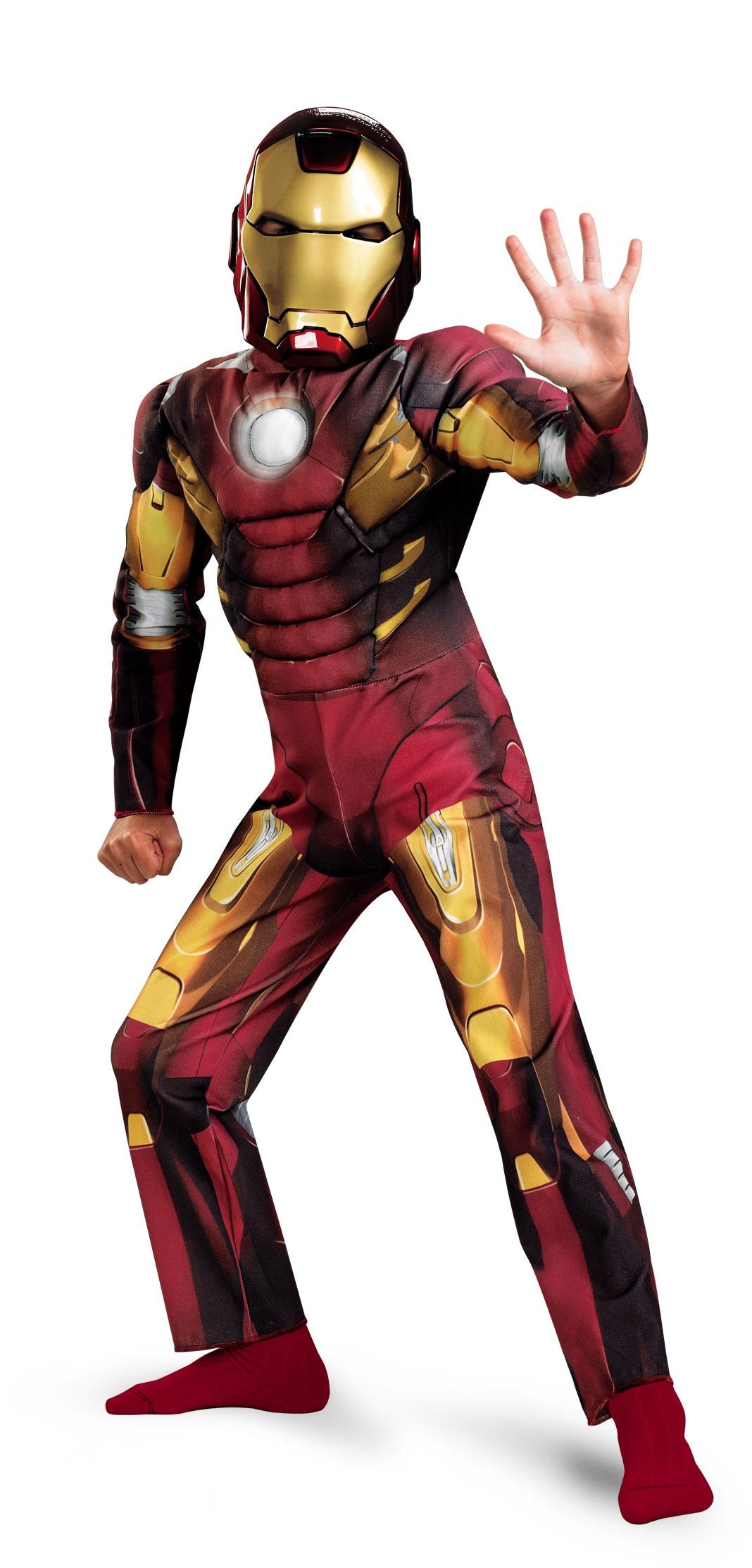 Ironman Kids Costume Size
