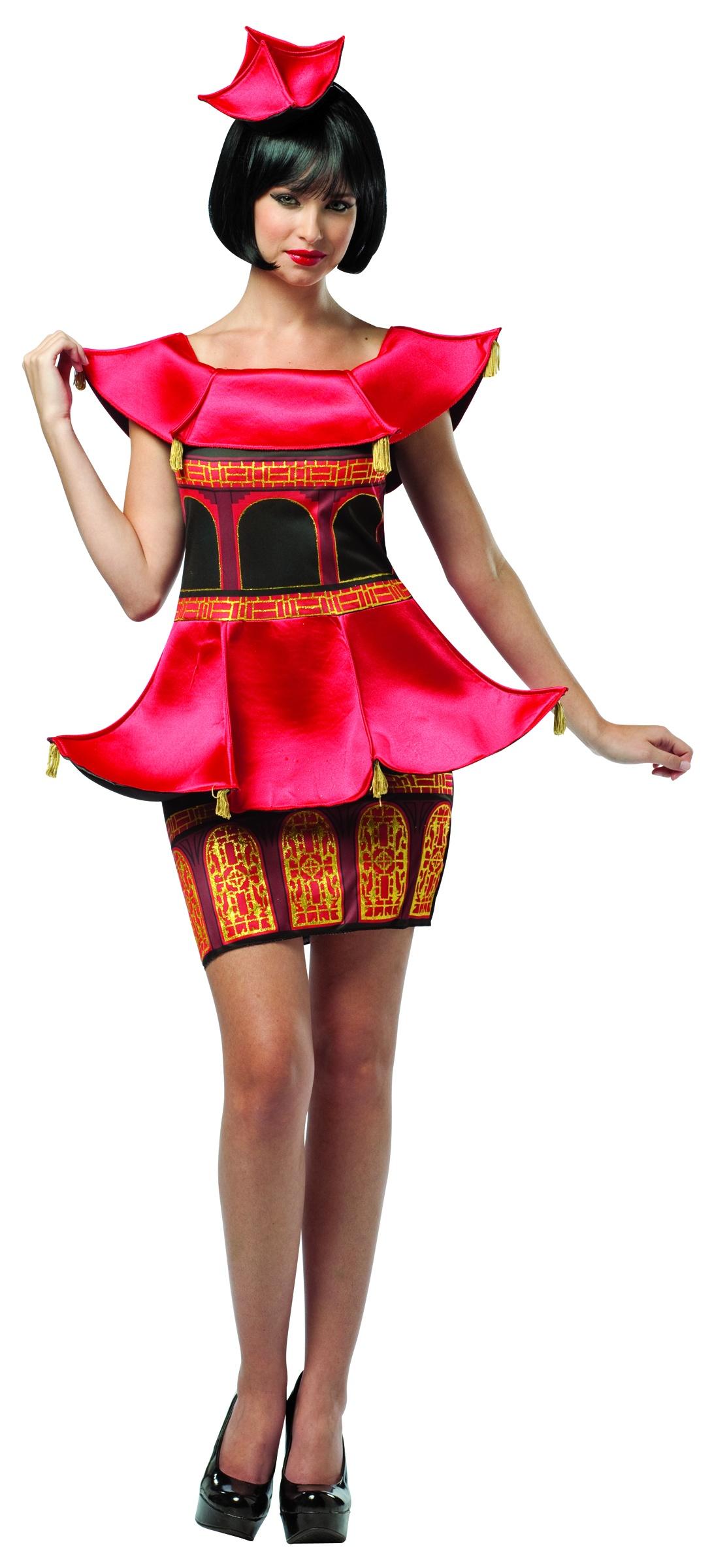 Pagoda Dress Asian Costume Costumes