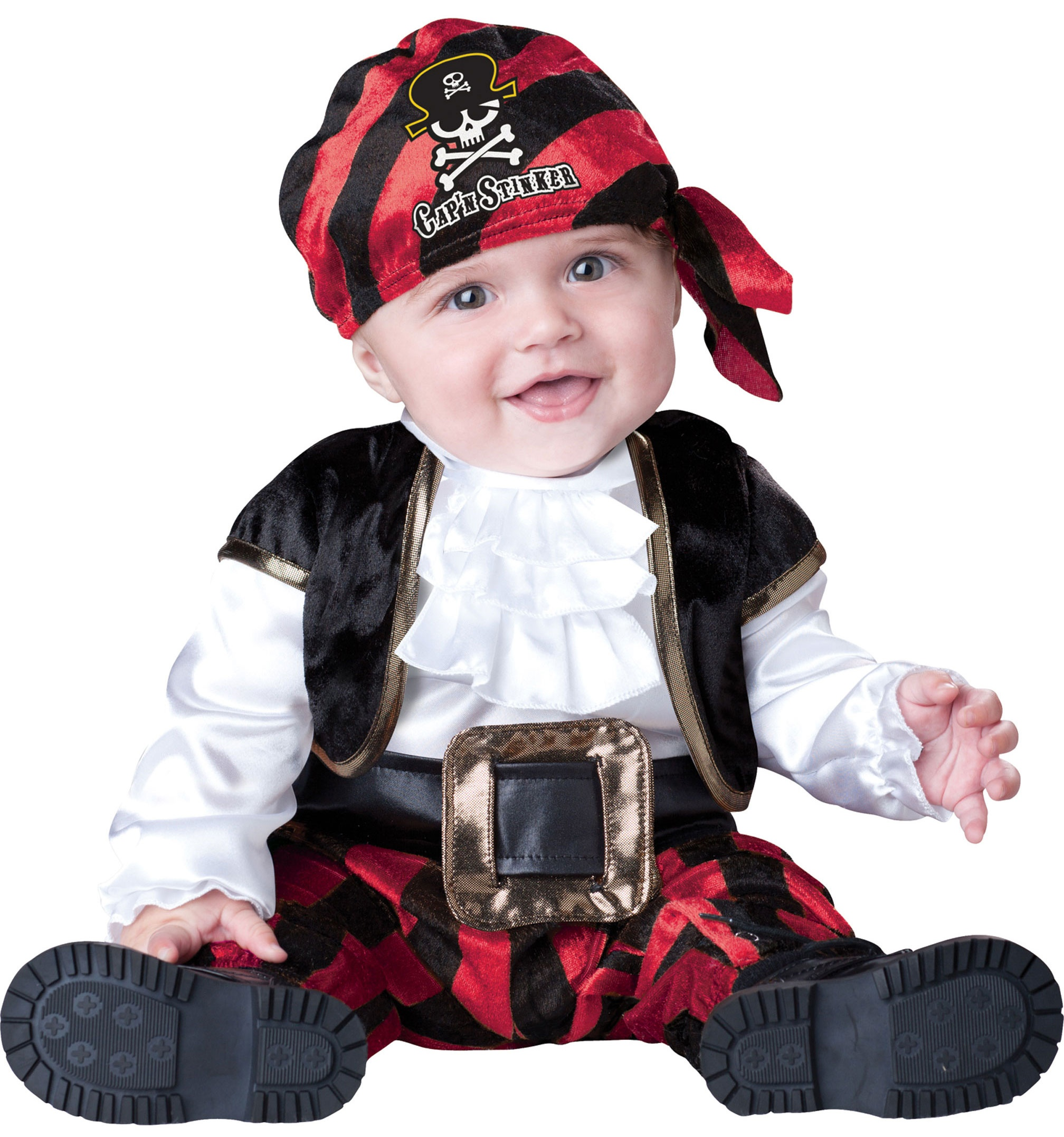 captain stinker pirate baby costume mr costumes. Black Bedroom Furniture Sets. Home Design Ideas