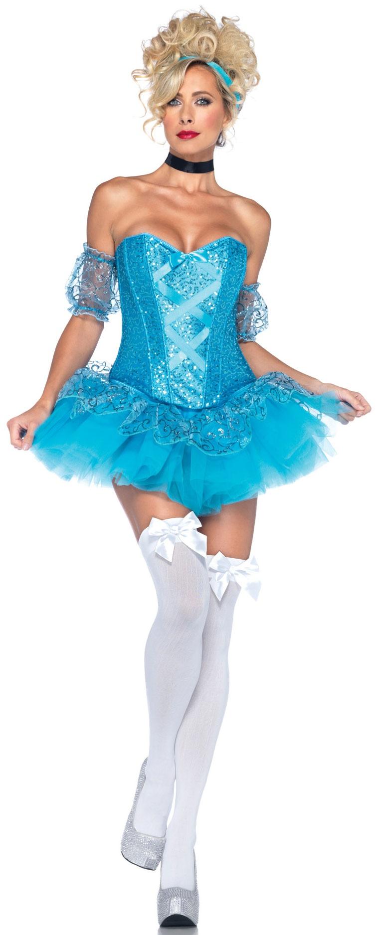 Glass Slipper Princess Cinderella Costume Costumes