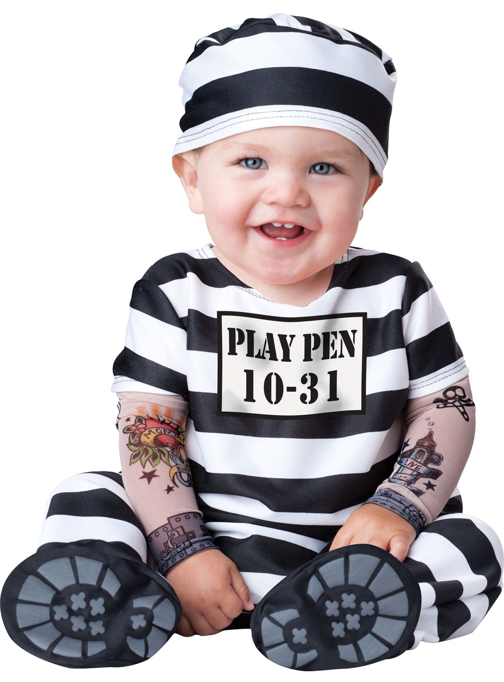 Home gt gt convict costume gt gt convict time out baby costume