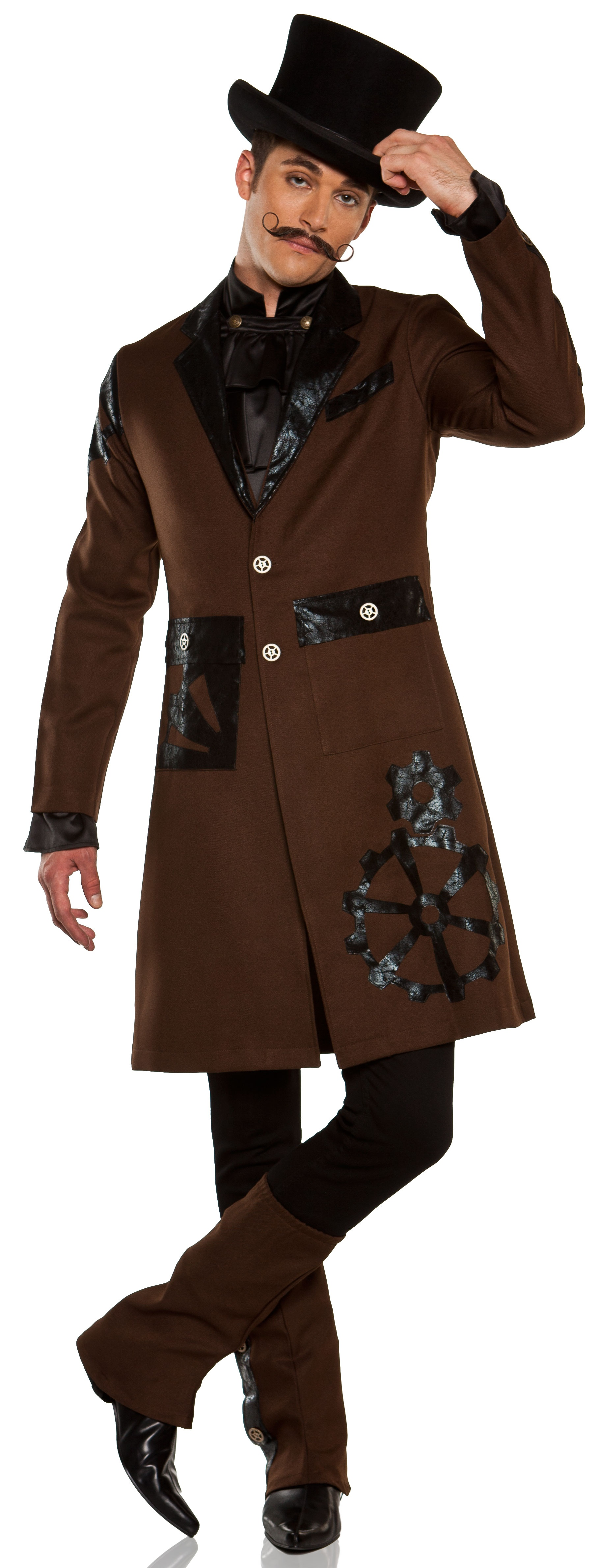 full steam ahead steampunk captain adult costume mr costumes. Black Bedroom Furniture Sets. Home Design Ideas