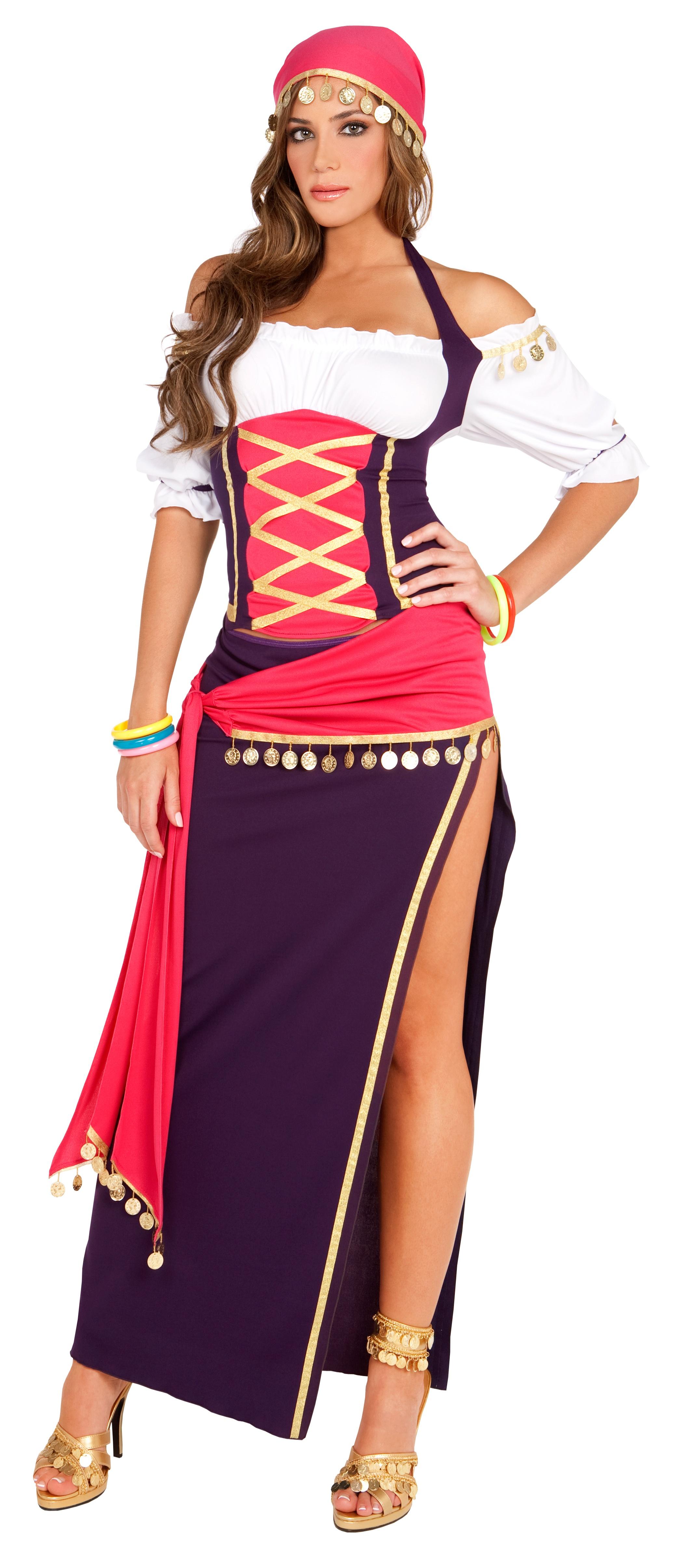 Renaissance Gypsy Maiden Adult Costume Costumes