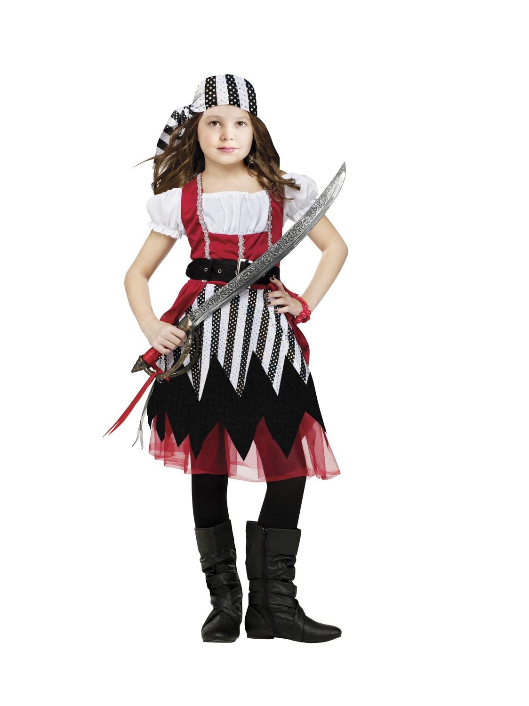 Карнавальный костюм разбойницы для девочки своими руками