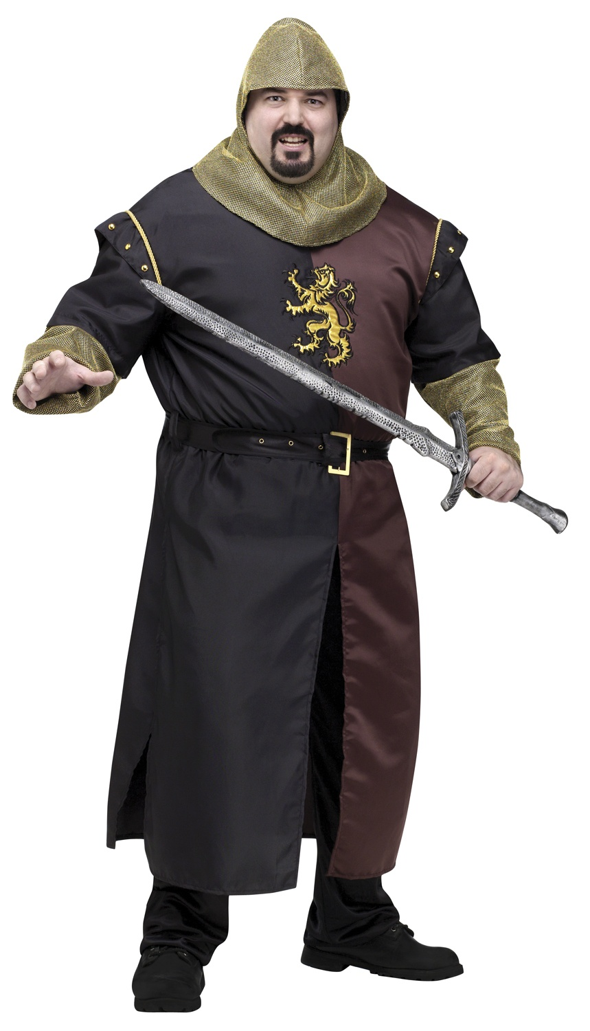 Plus Size Renaissance Knight Costume - Adult Costumes