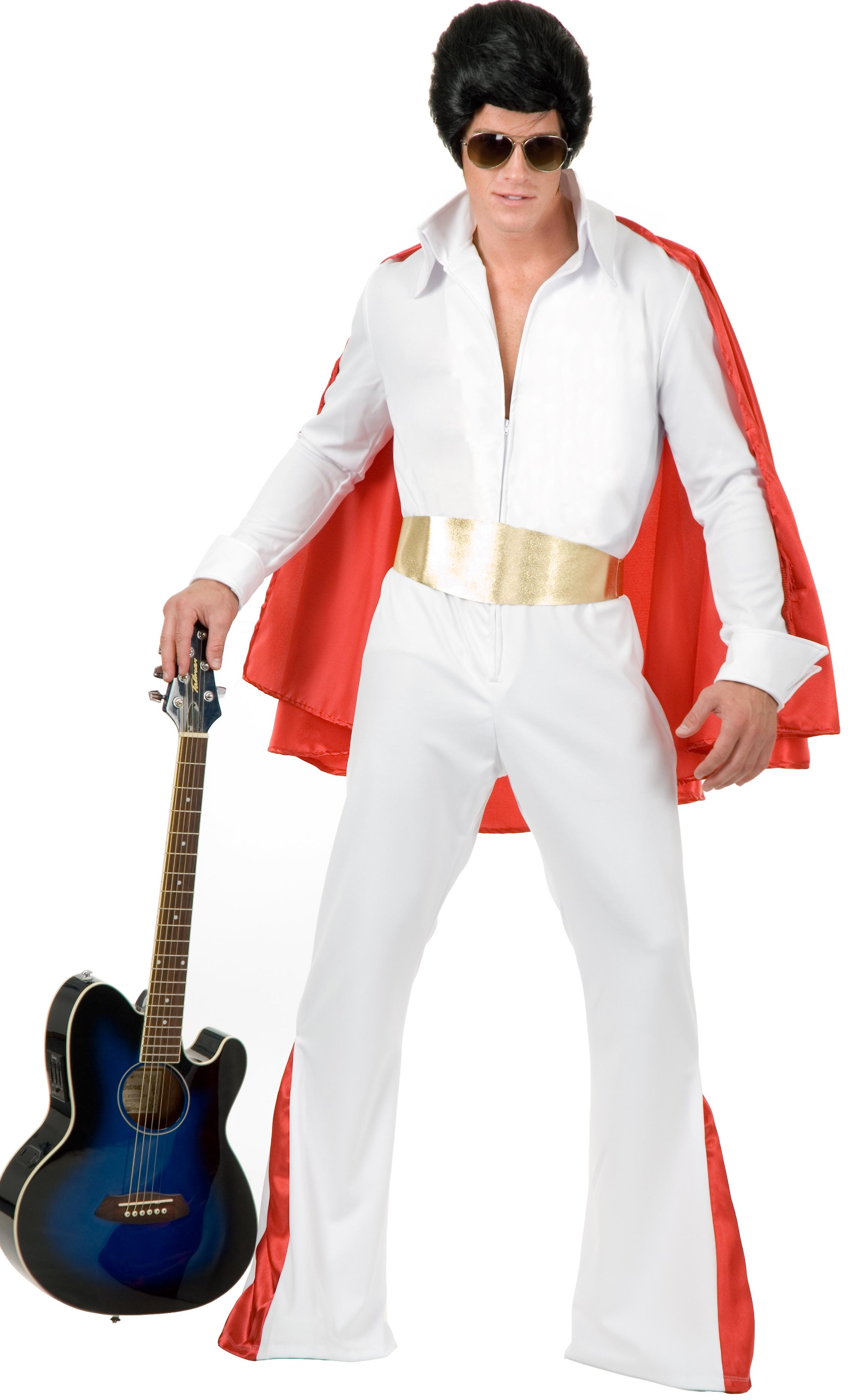 Rockstar King Elvis Adult Costume. Elvis Costumes