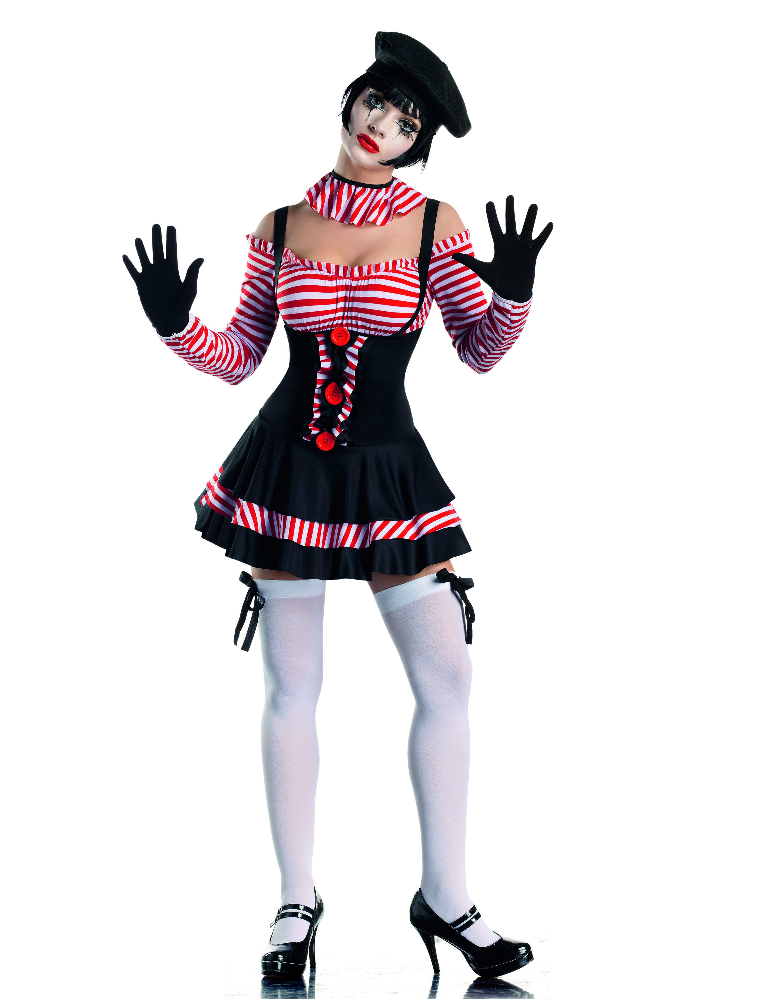 Sexy Circus Mime Costume - Mr. Costumes | 2595 x 3418 jpeg 3636kB
