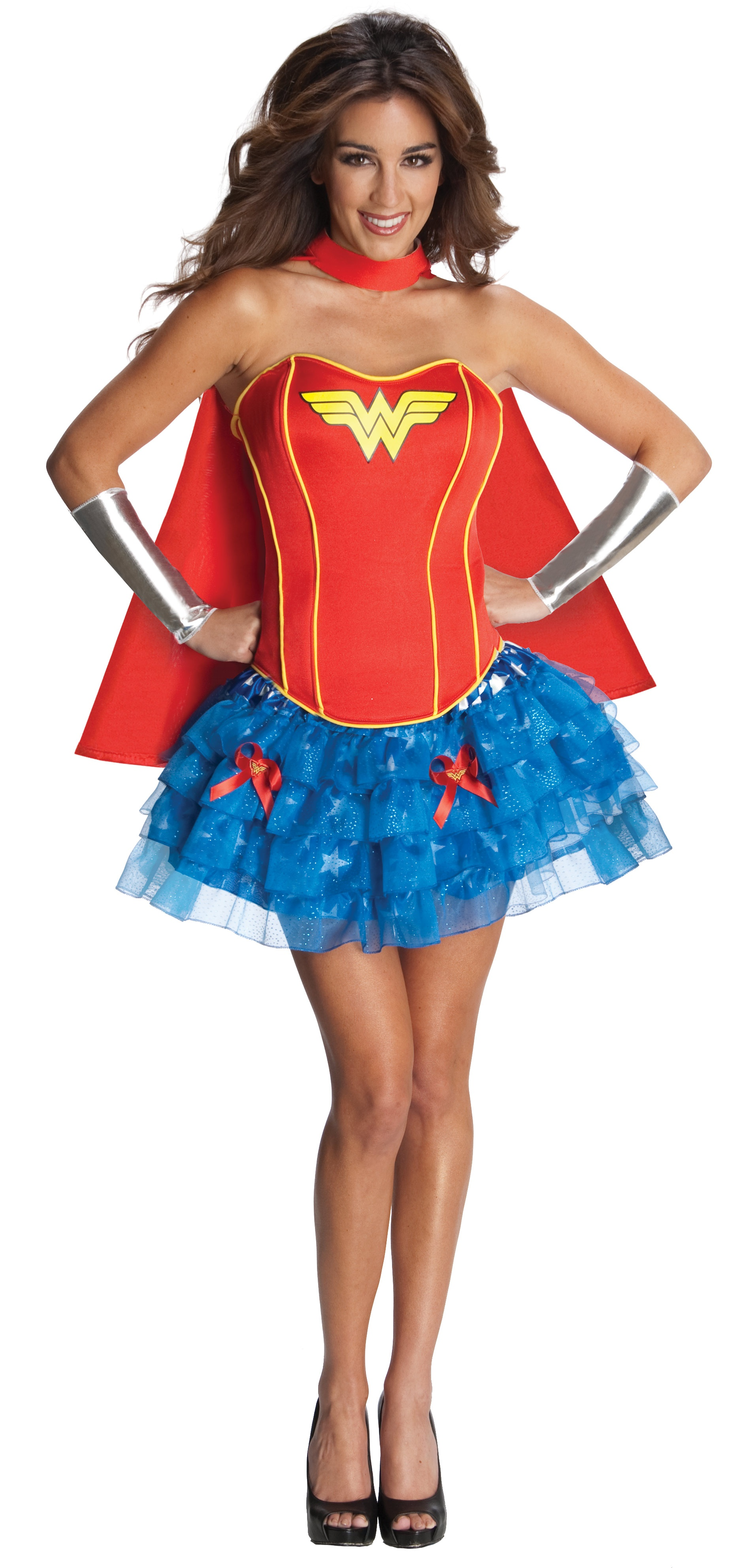 sexy wonder woman corest tutu costume mr costumes. Black Bedroom Furniture Sets. Home Design Ideas