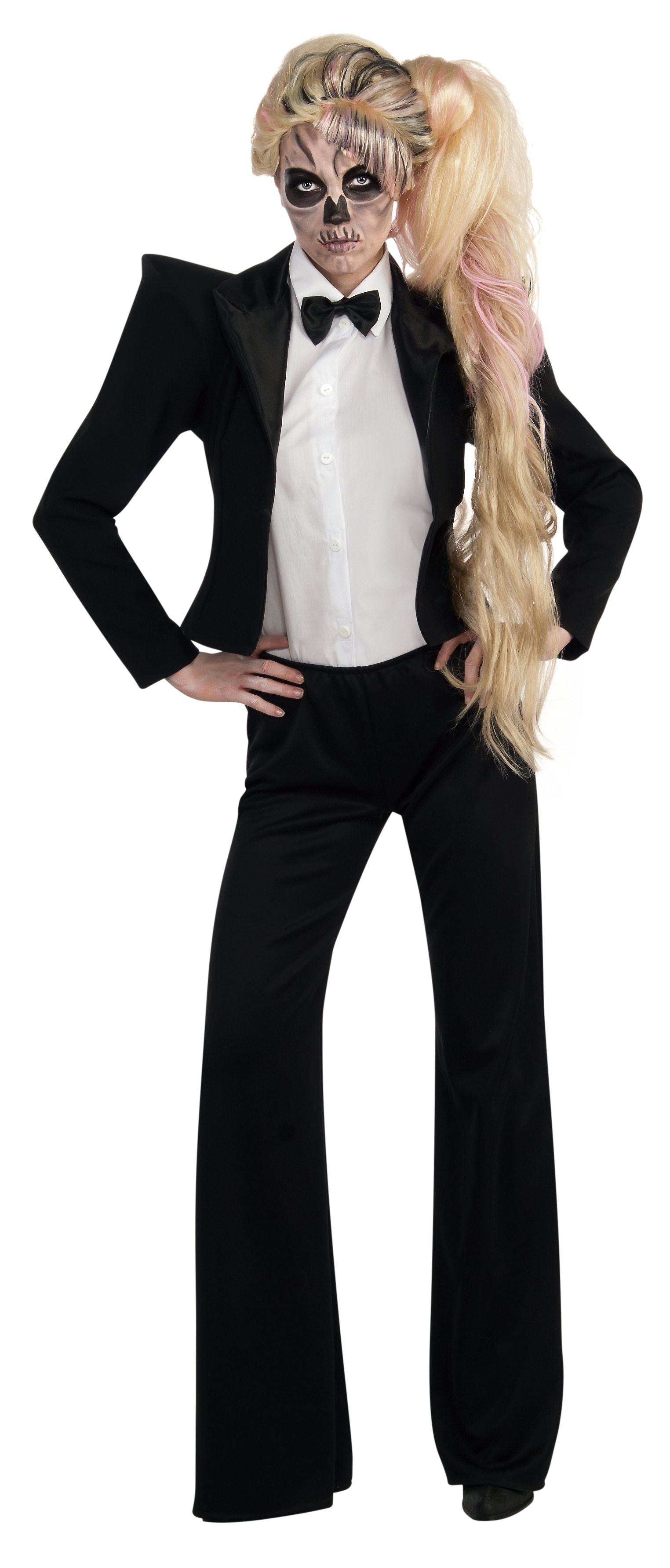 lady gaga tuxedo rockstar adult costume mr costumes. Black Bedroom Furniture Sets. Home Design Ideas