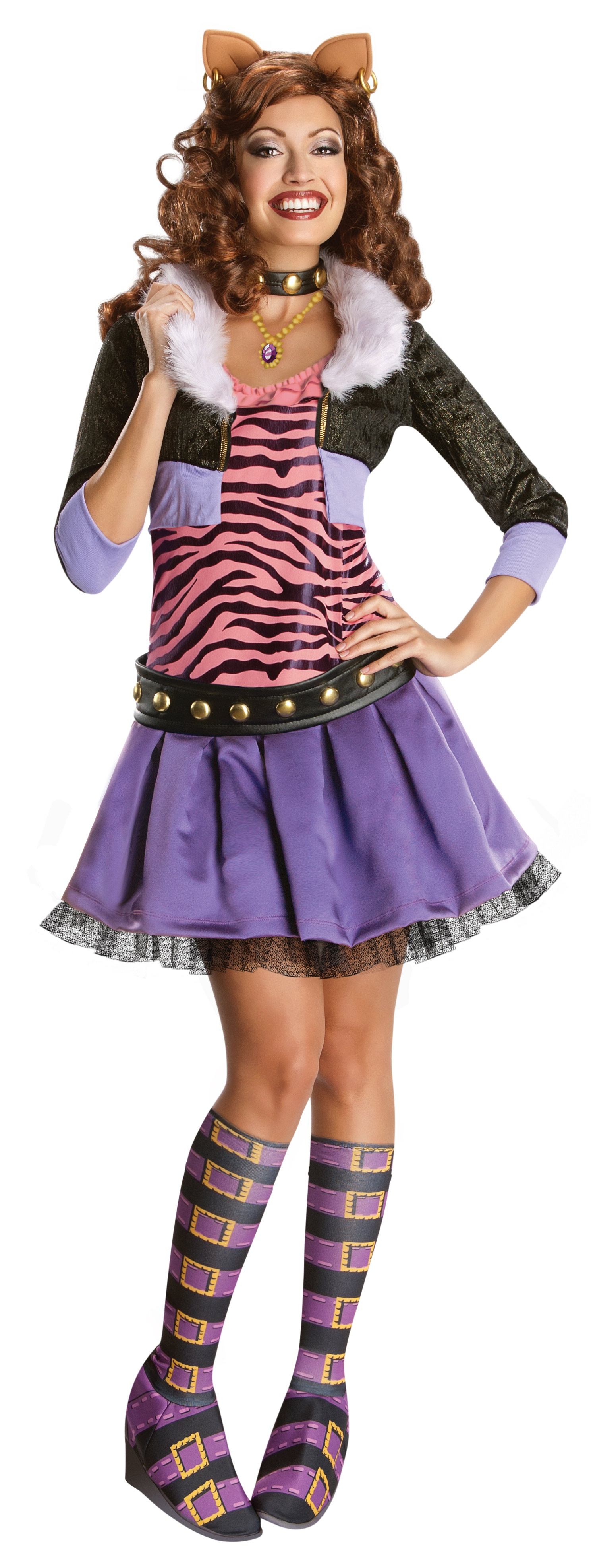 clawdeen wolf outfit