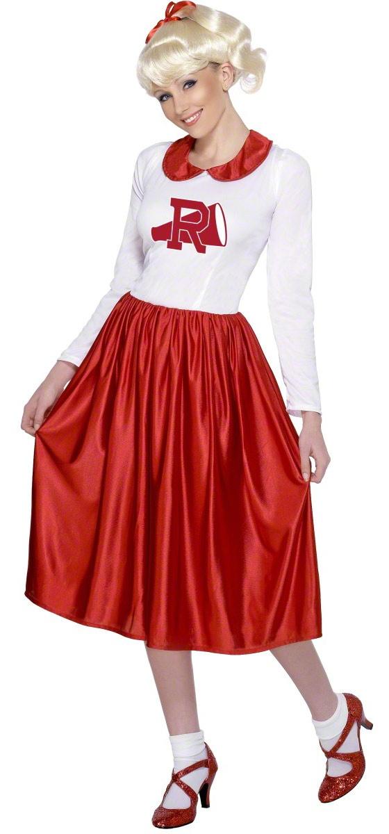 Cheerleader Sandy Grease Adult Costume - Mr. Costumes