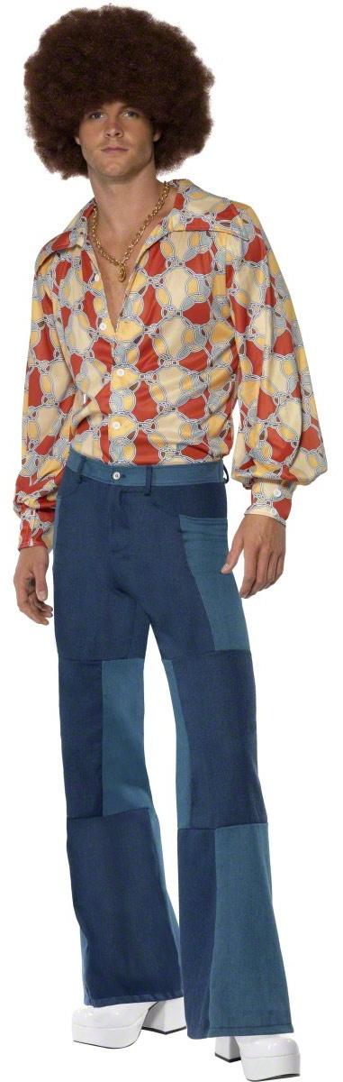 Mens Patchwork Pants ... >> Hippie Co...