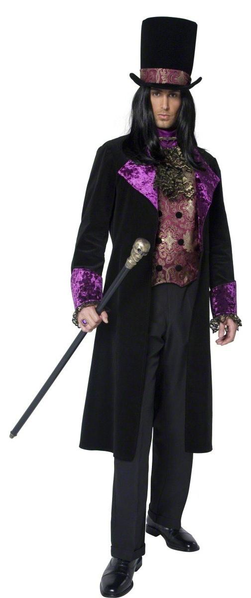 gothic vampire count adult costume mr costumes. Black Bedroom Furniture Sets. Home Design Ideas