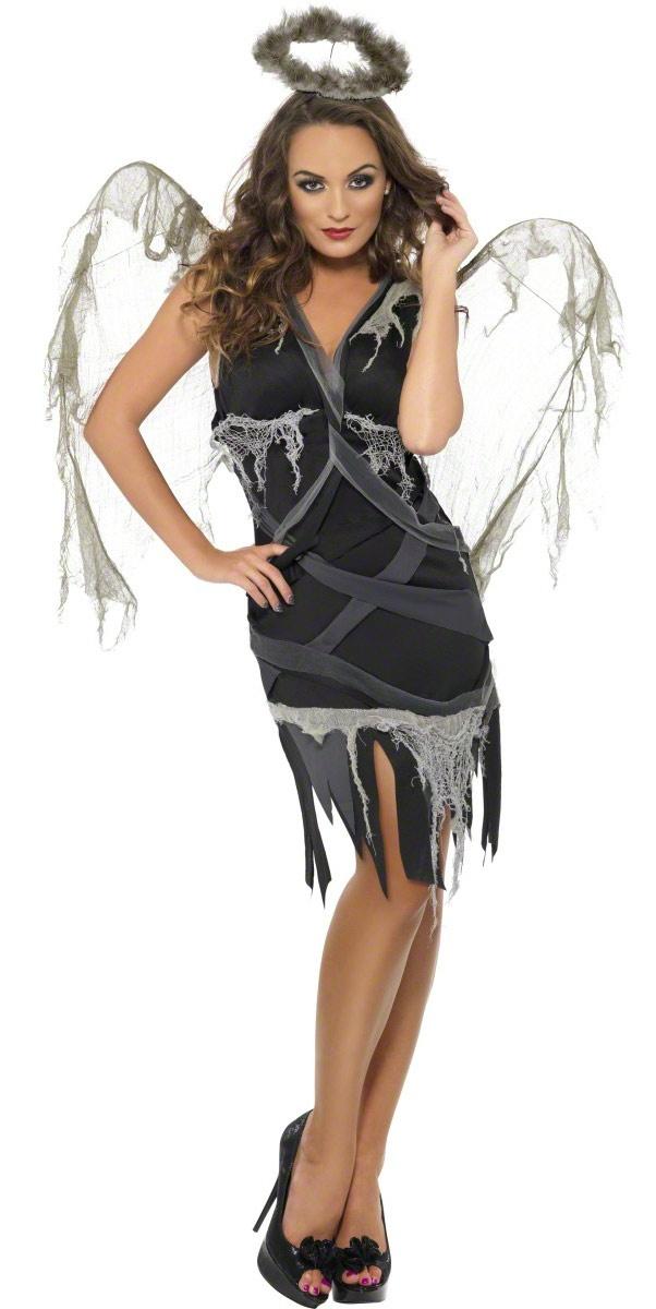 Angel sexy costume black
