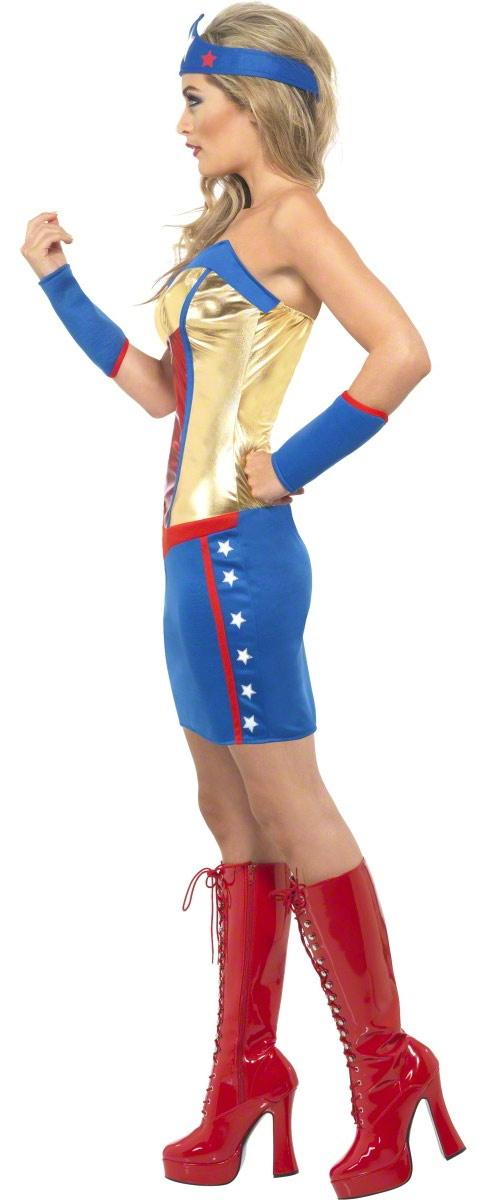 Sexy Superhero Sweetie Costume - Mr. Costumes