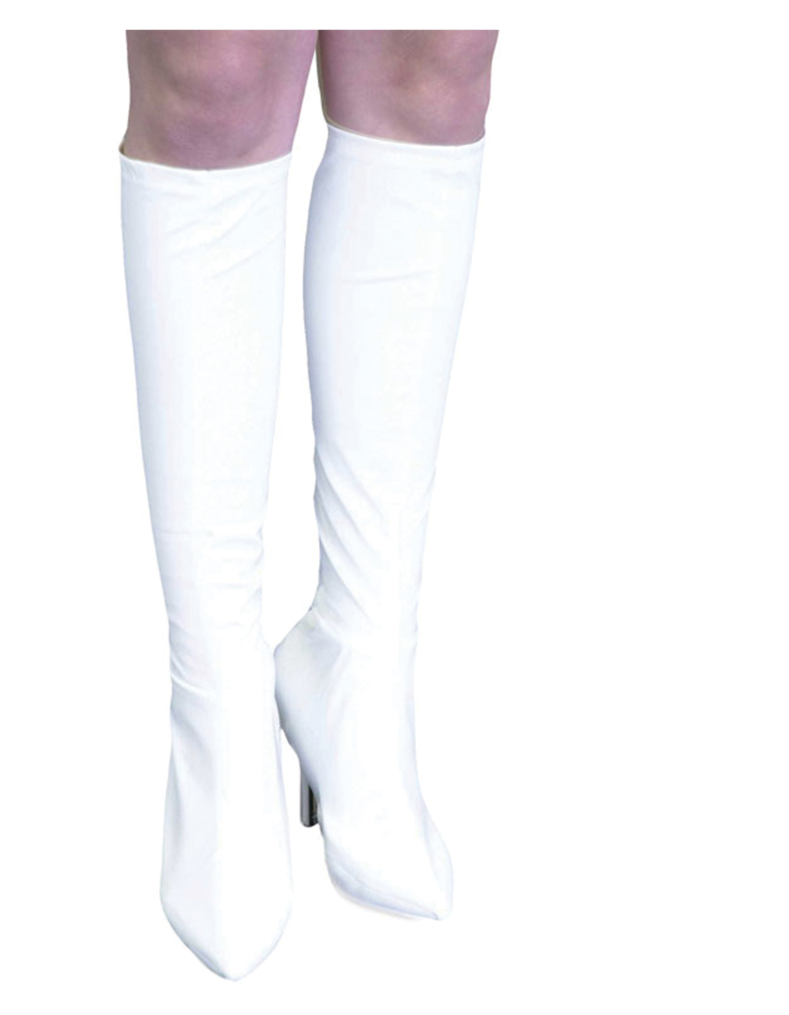 white knee high leather boot covers mr costumes