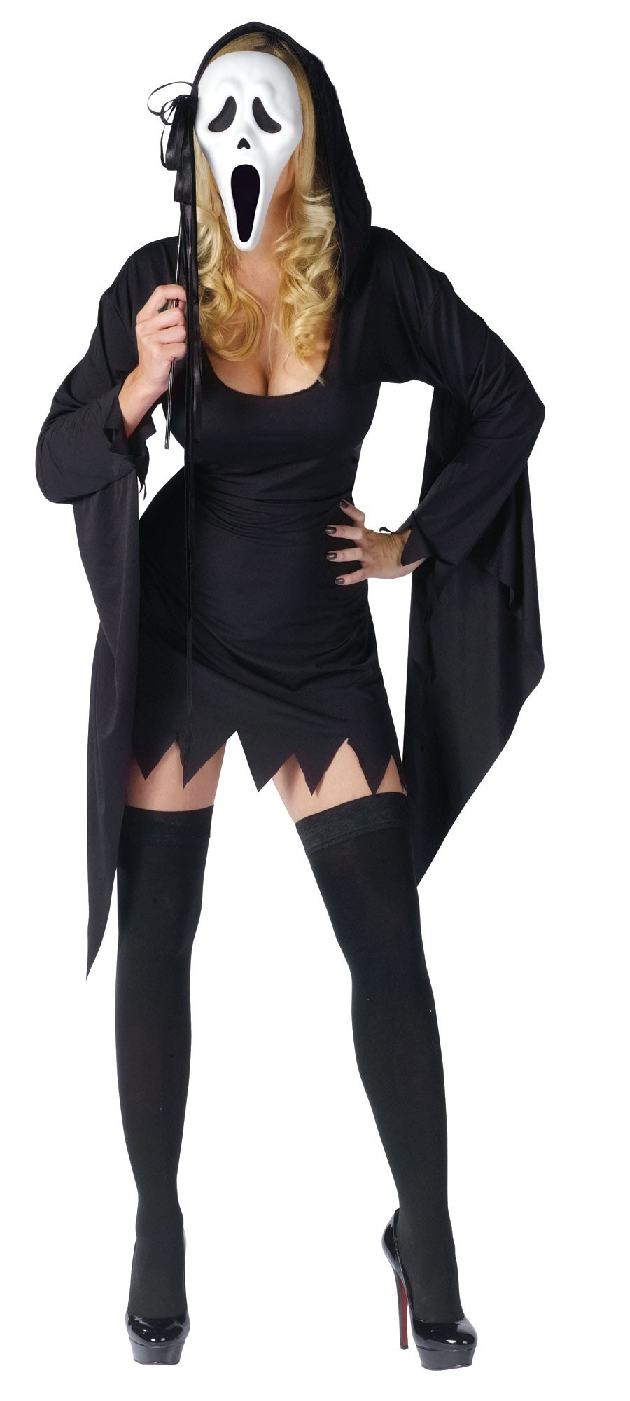 sexy scream ghost costume mr costumes. Black Bedroom Furniture Sets. Home Design Ideas