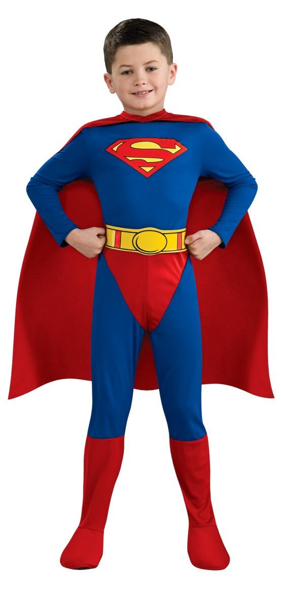 superman comics deluxe kids costume mr costumes. Black Bedroom Furniture Sets. Home Design Ideas