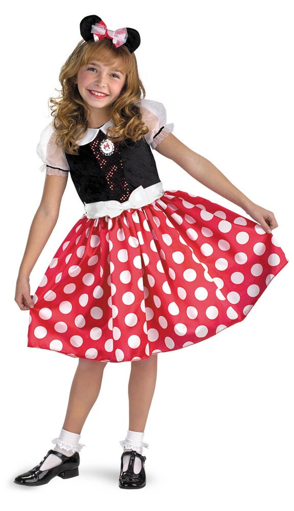 girls minnie mouse costume