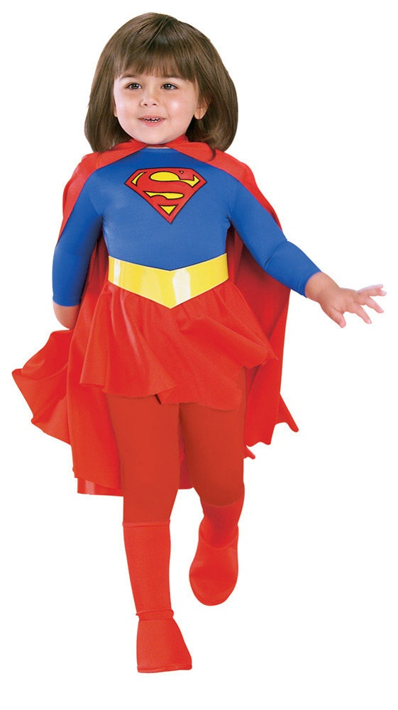 Supergirl Deluxe Kids Costume Costumes