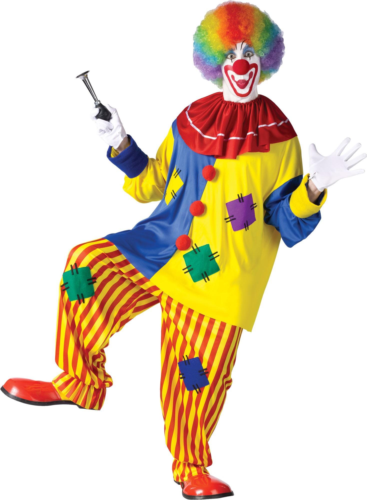 Adult Mens Big Top Clown Costume Costumes